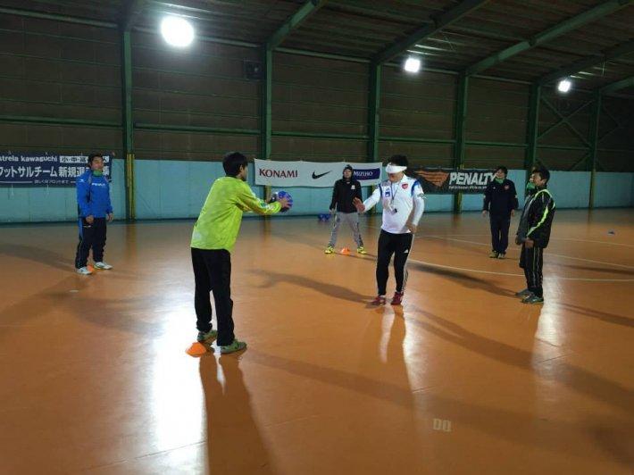 【開催レポート】第1回ブラインドサッカー指導者講習会を実施